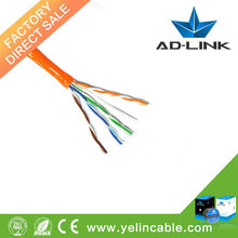 Made in China CE/Fluke pass Single Jacket cable utp cat5e price