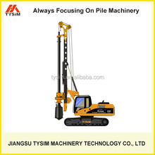 Earth drilling machine with CAT chassis KR60C, foundation drilling tool, drilling equipment manufacturers