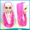 lace hijab snood abya tudung