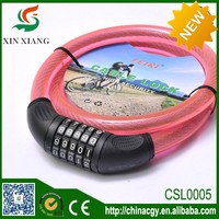 bicycle lock remote control cable lock electronic bicycle lock