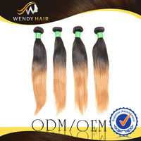 New Fashionalbe Colour No Chemical Can Be Dye Be Perm Low Price Cheap brazilian ombre blonde hair