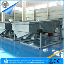 Weiliang SZF type linear classifying vibration separator screen for crushed sea shells