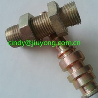 G14 BSP bulkhead nipple hose adapter
