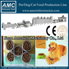 Dry pet/dog food pellet processing line/making machine