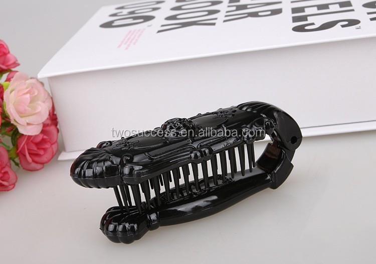 Foldable Plastic Hair Comb (3)