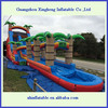 Lowerest price and high quality and PVC inflatable slip and slide for kids &adults
