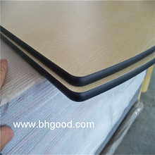 wood square formica HPL sheet table top for school student desk