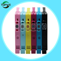 6 colors Compatible ink cartridge for Epson T0811/T0812 for Stylus Photo R610/R390 /1410