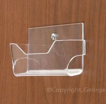 custom design clear acrylic wall mounted display case