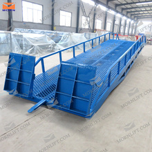 CE approved 15 ton hydraulic aluminum dock ramps