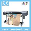Cheapest 1,8 M Dx5 Jefe del formato grande eco-solvente de la impresora