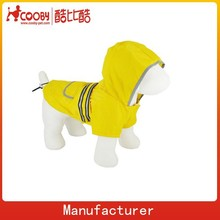 COO-017 Pet Fireman Reflective Raincoat Dog Raincoat
