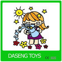 Chrismas Art Craft and Graffiti Toy as Promotional Gift toys for children