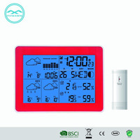 YD8230 WIFI Multifunction Led Battery Clock With Weather Forecast
