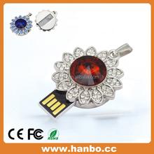free sample usb flash memory Diamond Necklace usb pendrive