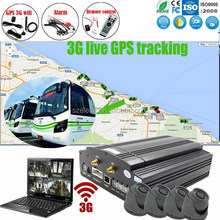 Live GPS tracking on google map any time hotselling 3g 4ch full d1 mobile dvr