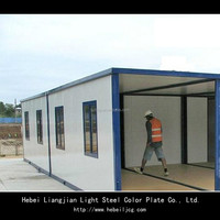 Low cost prefabricated container house/ prefab container house (manufacturer)