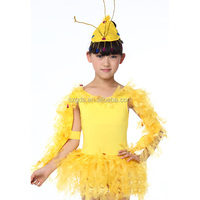 Girls cartoon small bee stage performance costumes