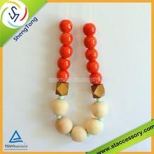 high quality bulk wooden beads/geometric beads wood