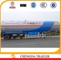 LPG and Propane transport 30m3, 42m3, 45m3, 60m3 LPG tanker trailer