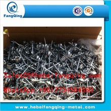 roofing nail with umbrella / roofing nail with round cap / roofing nails coil