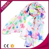 wholesale cheaper lady fashionable multicolor star pattern scarf
