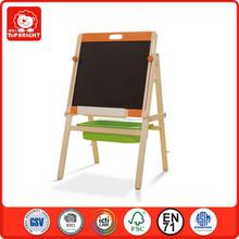 hot new products one minite Install single plate chalkboard tabula rasa and blackboard two sides drawing educational toy