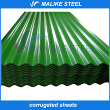 High quality Pre-painted Galvanzied Corrugated Steel Sheet/Color Coated Curved Steel Sheetd for Roof