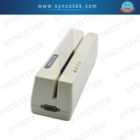 SYNCOTEK MSR Magnetic strip chip card reader swipe machine for supermarket
