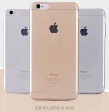 Transparent clear case for i phone 6 plus case