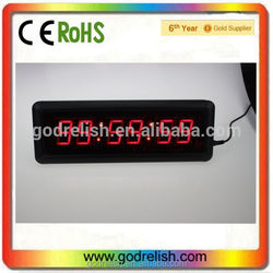 Hot selling led projection clock with music low price