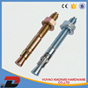 plastic clips and fasteners wall anchors and screw forms for concrete poles wedge anchor