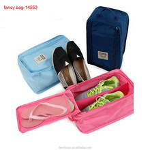 Cheap Promotional Italian Outdoor matching Polyester Travel Shoe Bag