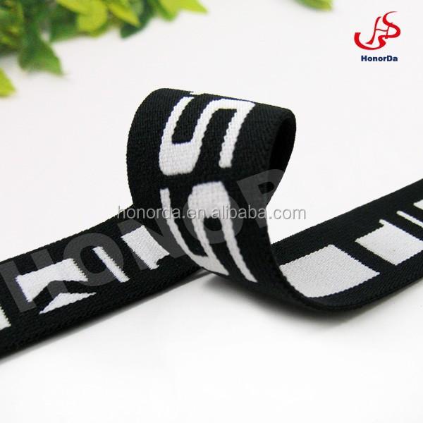 Good handle underwear used jacquard elastic webbing