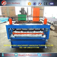 resonable price Double Layers Color Steel press tile cold roll making machine form shibo manifactury