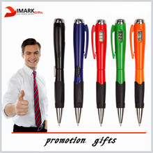 promotion ballpoint pen with clock