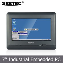 Touch screen 7 inch tablet on board telematic data terminal for multimedia advertising