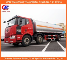 FAW 8 Wheel Fuel Tanker Truck for Oil Storage with One Year Free Warranty