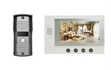 7 inch color classical video door phone DP-701 with rain-proof design outdoor unit for Villa
