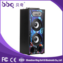 Suitable gift promotion mini led motorcycle bluetooth speaker for home theater
