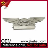Promotion Customized Lapel Pin Badge Wholesale Metal Pilot Wings