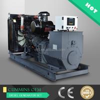 250kva Chinese generator set,200kw power generator diesel for sale