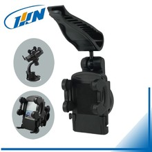 #158SV#Auto Cell Phone Holder Clip Rotation Universal Car Sun Visor Mount Holder