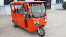 CKD version electric tricycle 1.2KW motor with closed body
