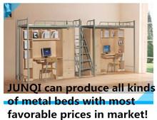 Metal twin over twin bunk beds (JZ-031)