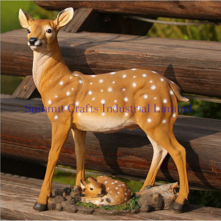 ourdoor garden decoratiive resin deer statues for sale view resin deer statues for sale oem. Black Bedroom Furniture Sets. Home Design Ideas