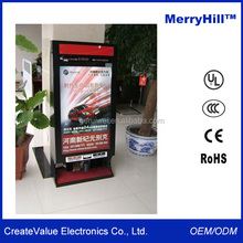 WIFI Network Kiosk 42/46/55/65 inch Quad-core Table Stand Digital Signage Display