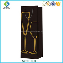 Promotional Special Design Luxury Eco-friendly Fantastic Printed Custom Made Shopping Bag Wine Bag,Gift Bag