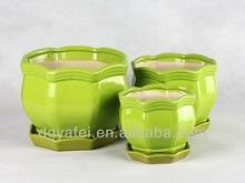 New colorful vase, family size pots