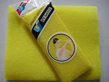 Cure Series Japanese Exfoliating Bath Towel - Super Hard Weave Bath Cloth